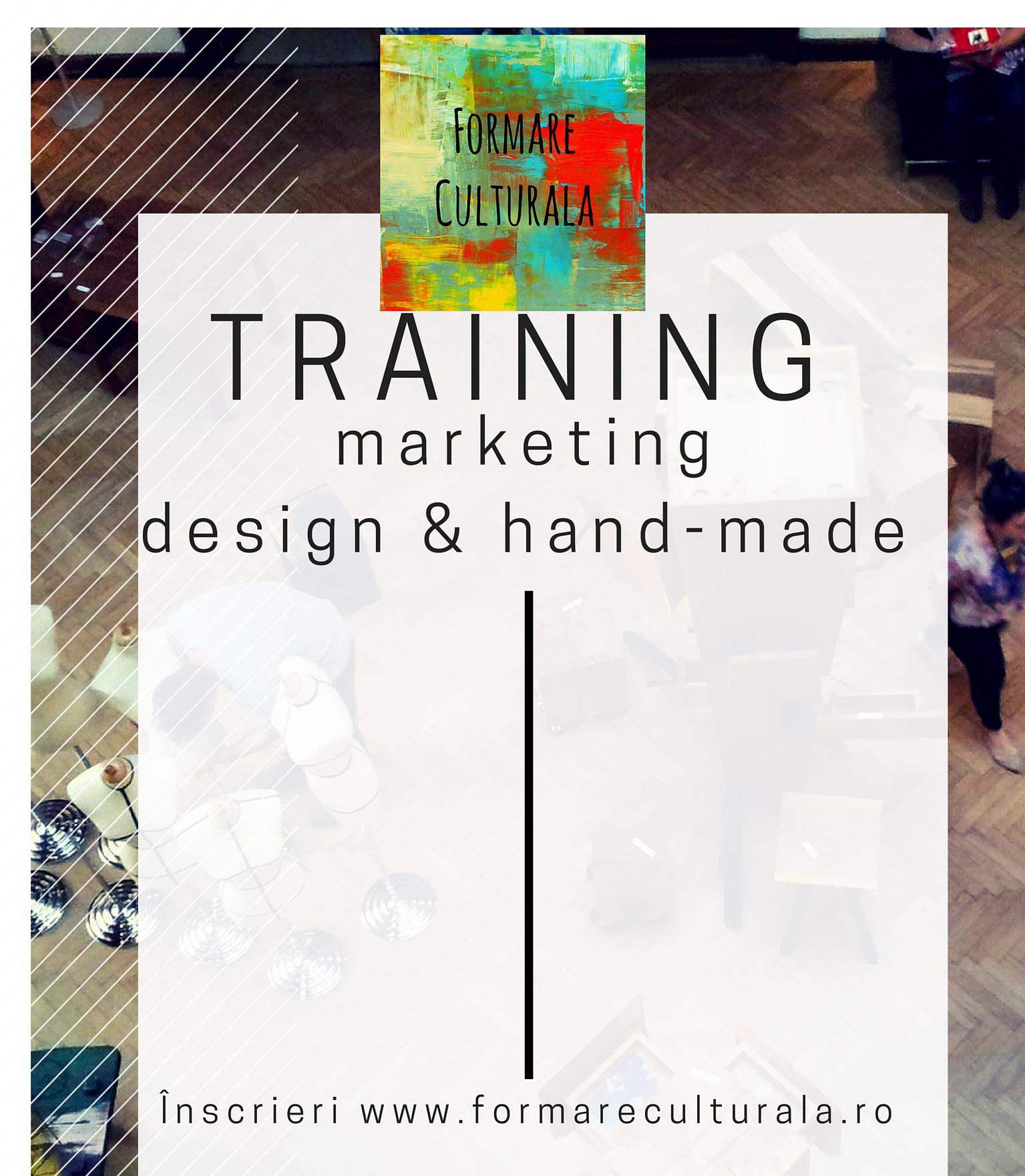 Marketing pentru comunitatea de design si hand-made