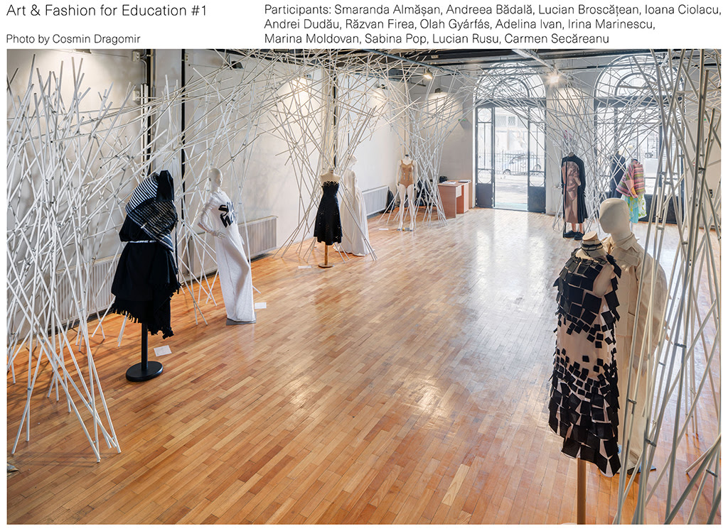 raport final al proiectului ART & FASHION FOR EDUCATION 1, parallel event of BUCHAREST BIENNALE