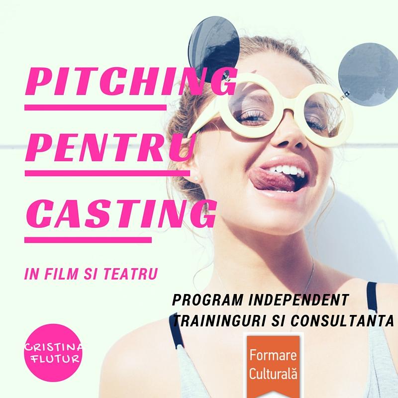 Pitching pentru casting in film si teatru