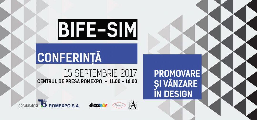 Formare Culturală @ Conferinţa de Design BIFE- SIM, Târg internaţional de mobilă
