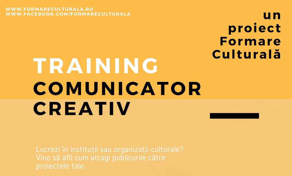 Comunicator creativ