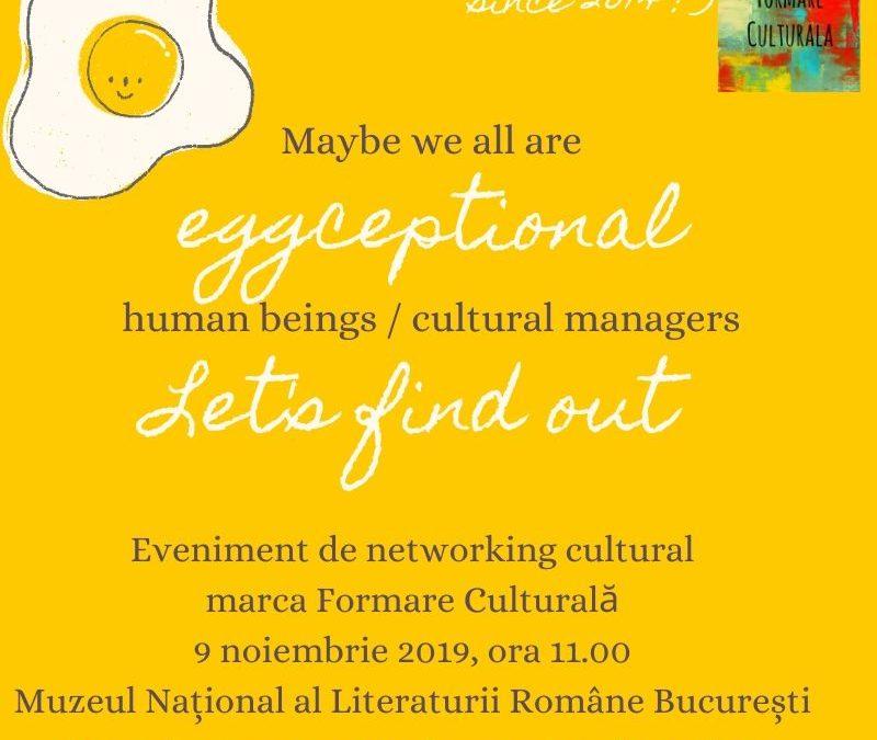 Networking cultural, marca Formare Culturală, întâlnirea din 2019