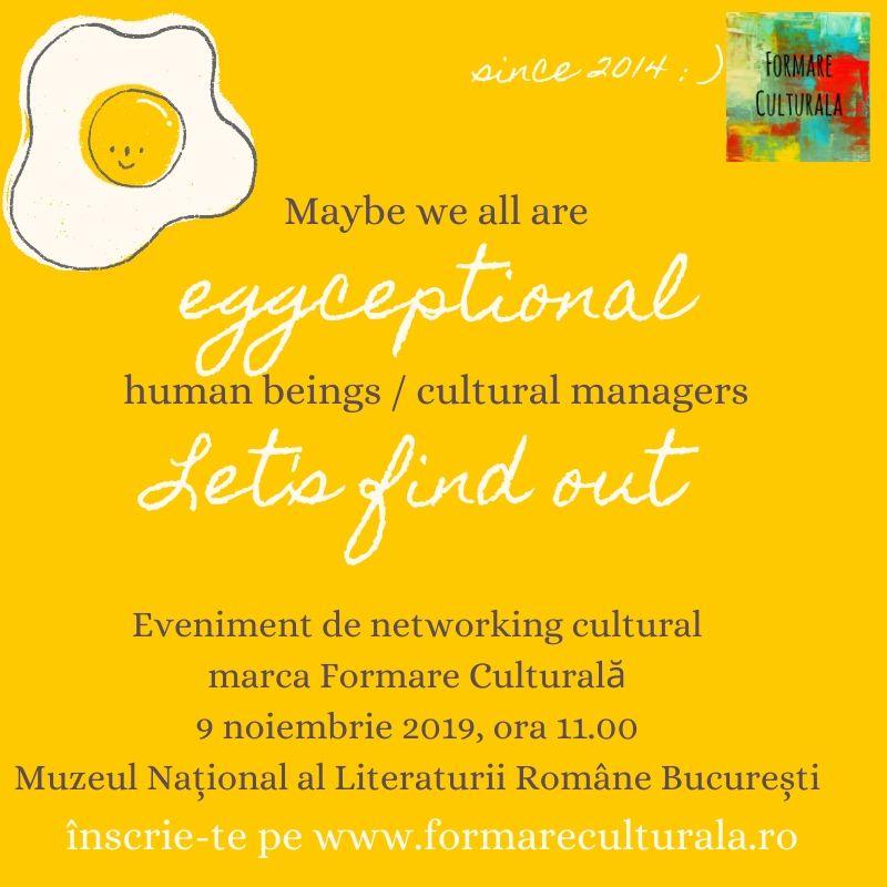 networking cultural formare culturala 2019