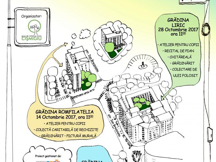 Proiecte finaliste @ Programul de microgranturi pentru proiecte comunitare București