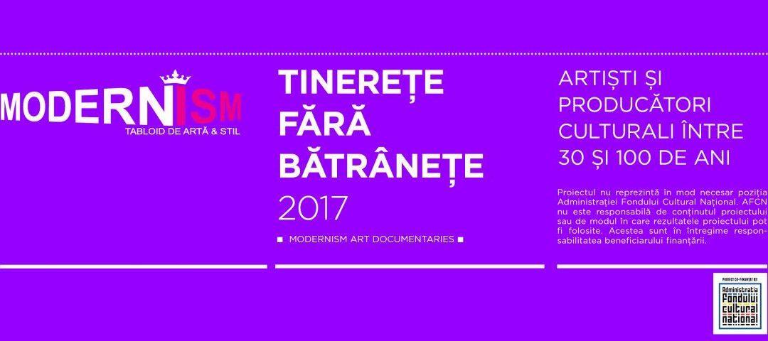 Tinerețe fără bătrânețe, un proiect online de knowledge capture & transfer: artiști și producători culturali români
