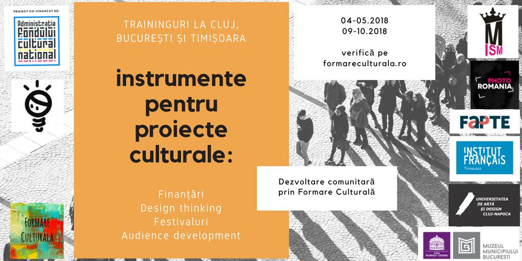 Dezvoltare comunitară prin formare culturală