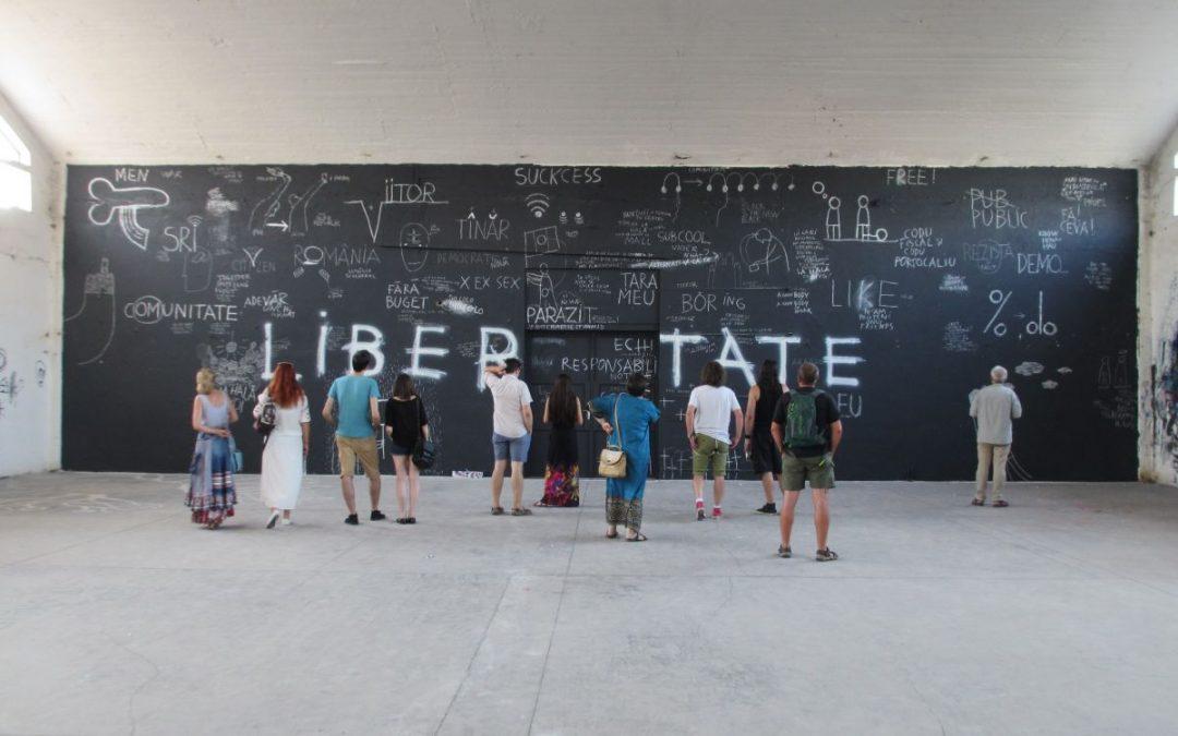 Proiect de regenerare urbană prin evenimente culturale: Reset Teba @ Noii industriași, creativii