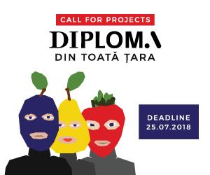 Viitoarele #profesii creative: înscrieri lucrări diplomă facultăți vocaționale în festivalul DIPLOMA 2018