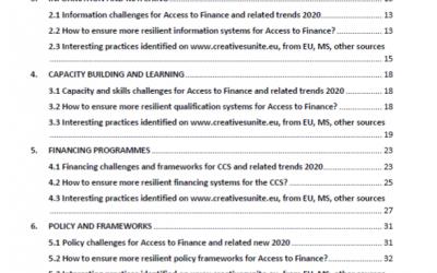 Raport: ghidaj privind sisteme financiare reziliente pentru industrii culturale și creative @ Creative FLIP