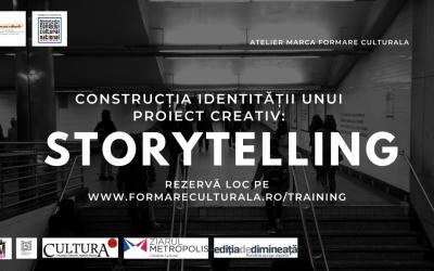 Construcția identității unui proiect creativ: storytelling