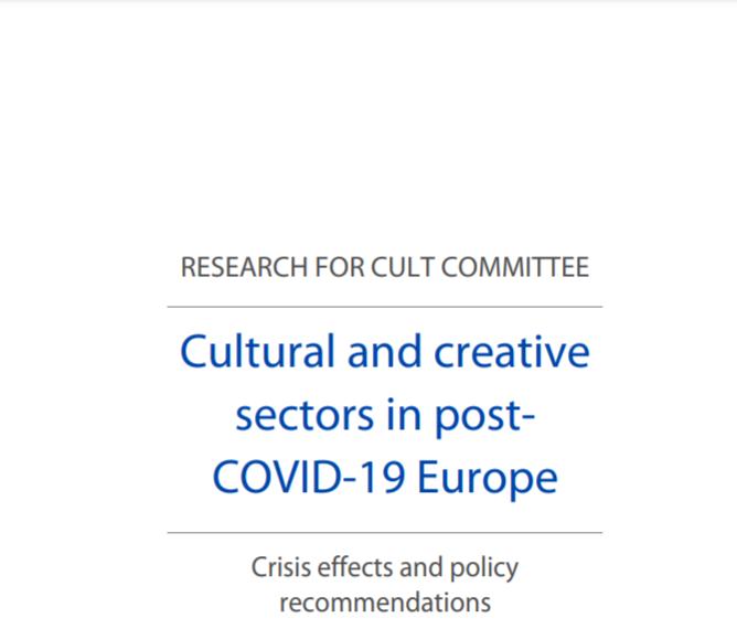 Sectoarele culturale și creative din Europa postCOVID-19